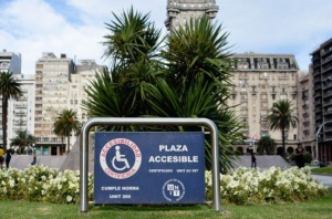 Plaza accesible
